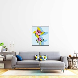 kunstbilder-blumegelb1